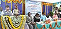 Nitin Gadkari addressing the inaugural ceremony of the Capital Dredging of Navigational Channel, at MPT, Jetty break water, Mormugao Harbour. The Chief Minister of Goa, Shri Laxmikant Parsekar.jpg