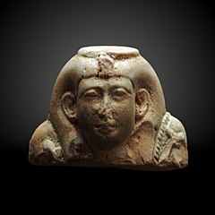 Bust of a funerary statuette of Nitocris-A 1999-2286