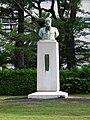 Nobuyoshi Yamazaki at Anjo Norin High School 090711.jpg