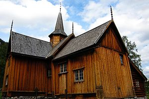 Nore Stave Church - Image: Nore Stavkirke 03 (15187843698)