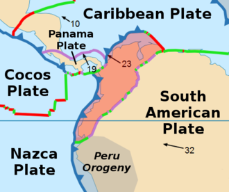 "Malpelo Plate - The Malpelo Plate is the ""thumb"" of the Nazca Plate between the North Andes and Cocos Plates."