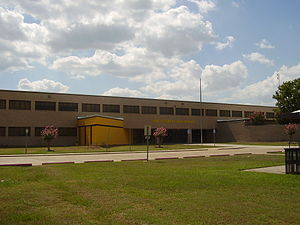 North Forest Independent School District - North Forest High School main campus, the former Smiley High School