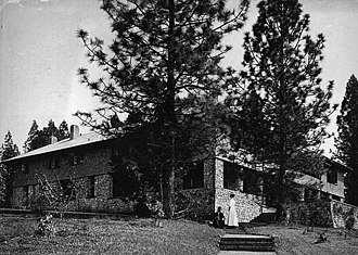 North Star House (Grass Valley, California) - The North Star House in 1907. Photo by Arthur De Wint Foote