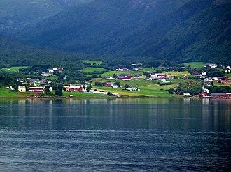 Lensvik - Image: Norwegen 2010 08 04 Lensvik bei Trondheim panoramio
