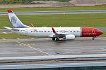 Norwegian (Christian Krohg Livery), EI-FJG, Boeing 737-8JP (28955830926).jpg