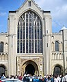 Norwich Cathedral on St George's Day Parade - geograph.org.uk - 1322567.jpg