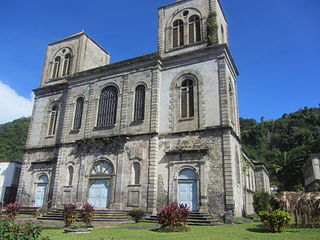 Co-Cathedral of Our Lady of Assumption, Saint-Pierre Church in Martinique, France