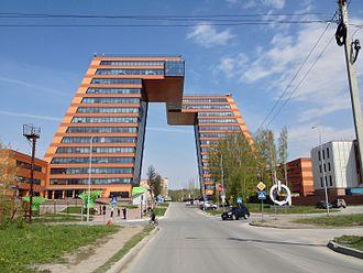 "Akademgorodok - The ""Academpark"" in Akademgorodok"