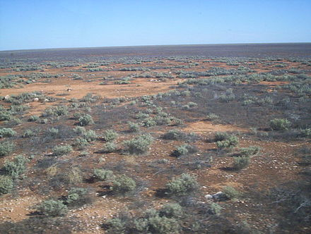 The Nullarbor plain in Australia Nullabor plain from the indian pacific.jpg