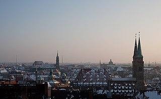 Nuremberg city in Bavaria, Germany