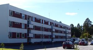 Nurmo - An apartment building in Nurmo.