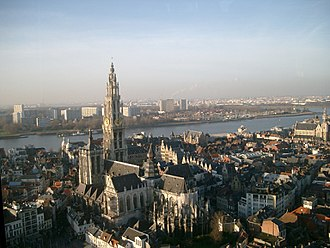 Antwerp Province - City of Antwerp. Main tourist attraction.