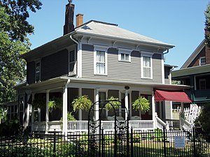 Oak Lane Historic District - Amos Cutter House