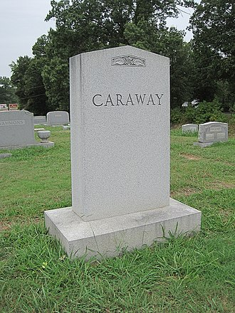 National Register of Historic Places listings in Craighead County, Arkansas - Image: Oaklawn Cemetery Jonesboro AR 012