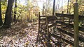 Odd Fence in the middle of the park - panoramio.jpg