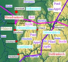 Odenwälderisch Wikipedia