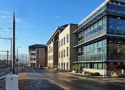 Offices in Haymarket Yards (geograph 4267718).jpg