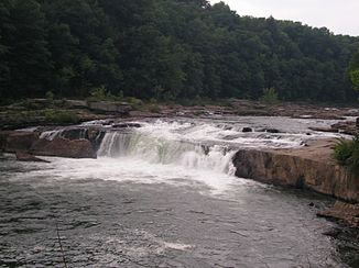 Ohiopyle Falls des Youghiogheny River