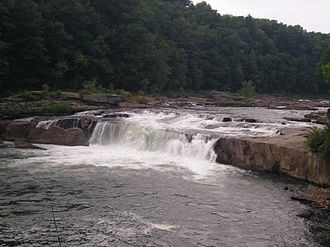 Youghiogheny River - Ohiopyle Falls along the Youghiogheny