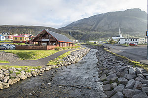 Ólafsvík - Olafsvik, a township in Snaefellsnes, Iceland.