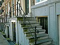 Old facade of mansion houses, Amsterdam city; free photo, Fons Heijnsbroek.jpg