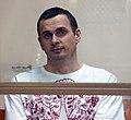Oleg Sentsov, Ukrainian political prisoner in Russia, 2015 crop.jpg