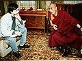 Oleg Shishkin and Dalai Lama 1993.jpg
