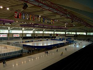 1998 World Single Distance Speed Skating Championships - Image: Olympic Oval Inside Calgary