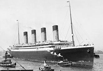 RMS Olympic - Olympic arriving at New York on her maiden voyage on 21 June 1911