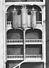 ontwerp tekening orgel in kapel detail uit grote doorsnede. - amsterdam - 20014563 - rce