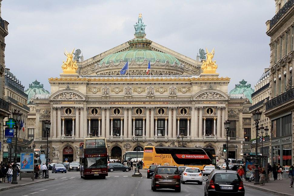 Opéra Garnier, 19 April 2014