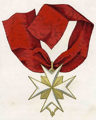 Order of the Golden Spur - Image: Orden vom Goldenen Sporn