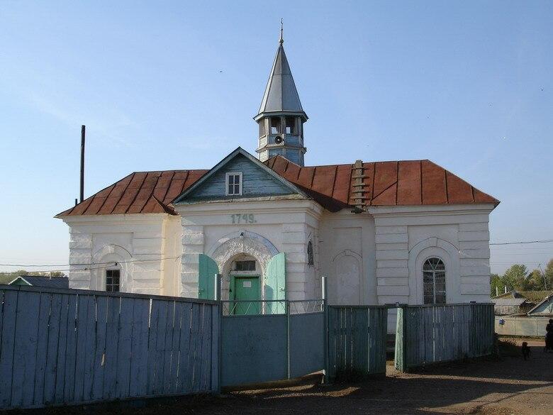 Orenburg oblast Kargala Double-minaret mosque
