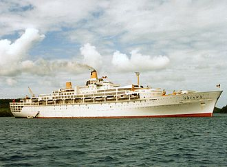 Orient Steam Navigation Company - Image: Oriana Tonga 1985