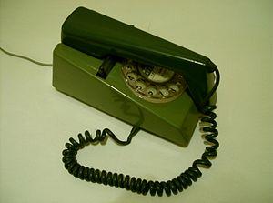 On-hook -  On hook telephone handset