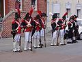 Origny-en-Thiérache (Aisne) défilé soldats Napoleoniens - Les Vétérans bourgeois 15-06-2014 (11).JPG