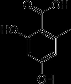 Orsellinic acid - Image: Orsellinic acid