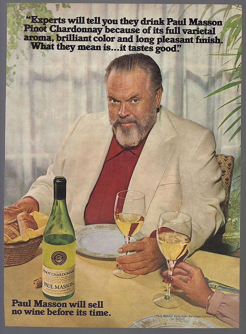 Orson Welles Paul Masson pinot chardonnay.jpg