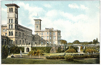 George Archer-Shee - Osborne House as a naval college in 1910