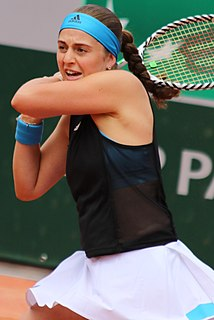 Jeļena Ostapenko Latvian tennis player