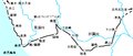 Osumi railway routemap.png