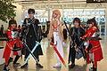 Otakuthon 2014- Kirito, Asuna and Silica (15036818461).jpg