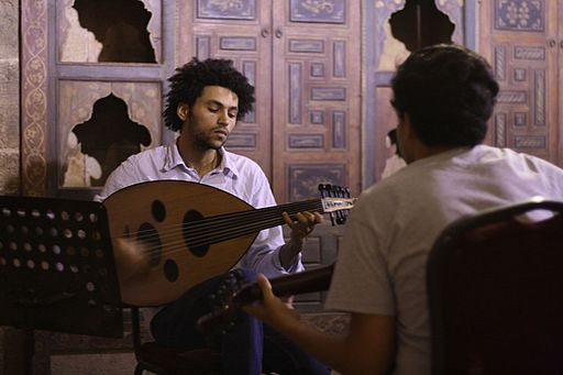 Oud class at Cairo's Beit el-Oud (House of Oud)
