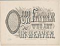 Our father who art in heaven LCCN2001700388.jpg