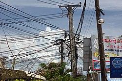 Overhead power lines in Sihanoukville.jpg
