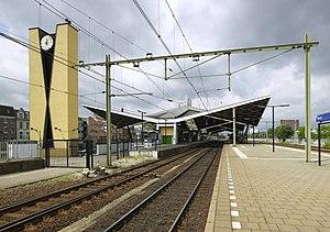 Tilburg railway station - Image: Overzicht station Tilburg 20535533 RCE