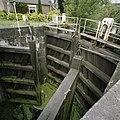 Overzicht van de houten puntdeuren van de schutsluis - Gouda - 20387981 - RCE.jpg