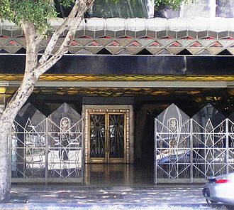 James Oviatt Building - Entrance to Oviatt Building