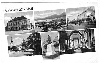 Pásztó Town in Nógrád, Hungary
