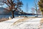 Pörtschach Halbinselpromenade Landspitz Aussichtspunkt Rondeau 21012018 2324.jpg